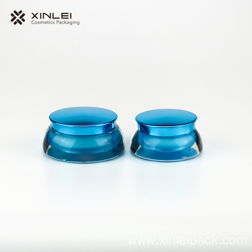 15g Round Face Eye Cream Plastic Jar